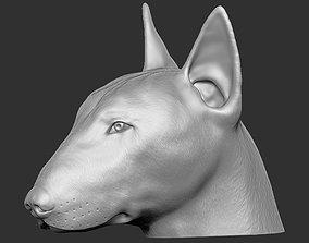Bull Terrier dog for 3D printing
