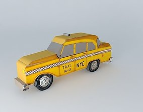 3D Ny taxi Houses of the world