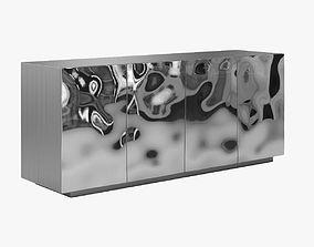 Silver Francois Corbeau Cabinet 3D