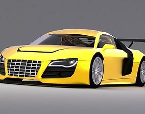 3D asset Audi R8 LMS