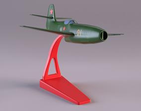 Yakovlev Yak 23 Flora plastic toy version 3D model