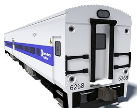 3D Metro-North Wagon 2