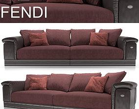 Fendi Casa Andrew Sofa 3D