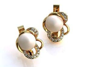 3D print model Earrings BS 005