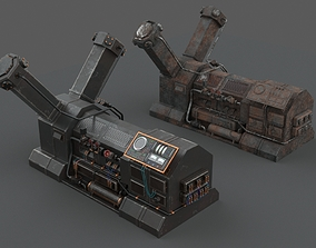 Machinery device 3D