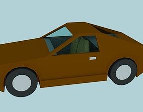 3D model LowPoly SportCar