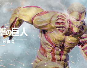 Attack on Titan - High Poly - Armored Titan 3D model 2