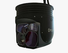 FLIR Star SAFIRE 380 HDc 3D asset