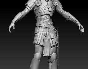 3D model Crusader remastered high poly