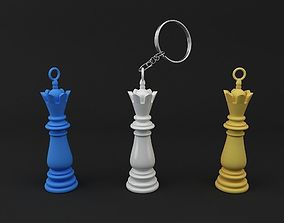 Chess King Keychain model