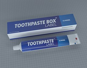 TOOTHPASTE CONTAINER 3D model