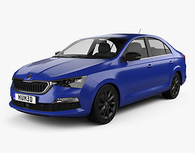 3D Skoda Rapid CIS-spec 2020