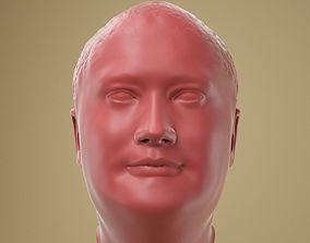 3D print model Male Head 01