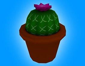 Ornamental Cactus 3D model
