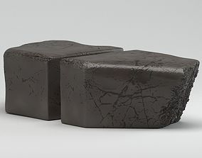 Black Ralph Pucci Coffee Table 3D model