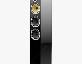 Bowers and Wilkins CM8 S2 Gloss Black 3D model