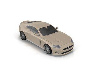 Jaguar xk rs 3D model