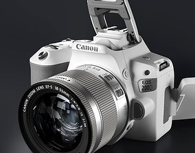 3D Canon EOS 200D