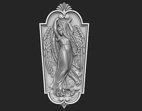 Night Angel Plaque 3D printable model