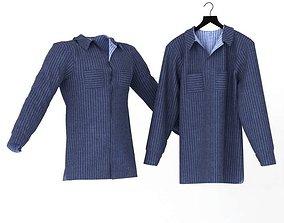 3D model Blue Shirt