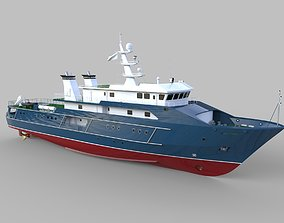 3D Complated Multi Role Supply Vessel