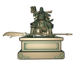 3D Guan Gong