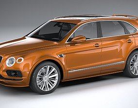Bentley Bentayga Speed 2020 3D model