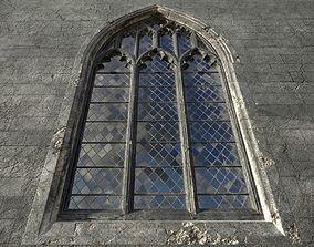 3D asset Gothic window