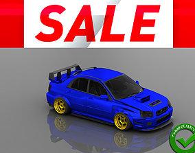 Subaru Impreza 3D asset