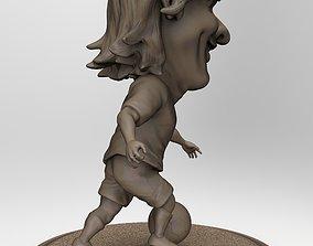 3D printable model Messi caricature