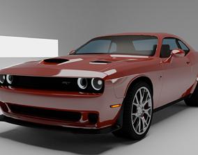 3D Dodge Challanger SRT 2015