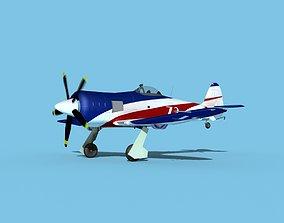 Hawker Sea Fury V23 Racer 3D