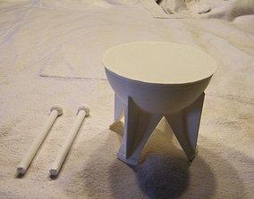 3D print model tambourine