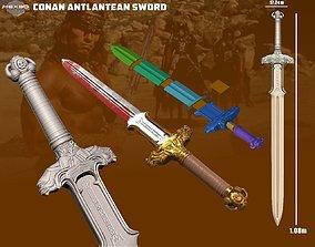 Conan The Destroyer - Atlantean Sword 3D Print