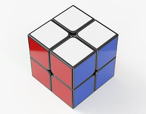 Magic Cube 2x2 3D model