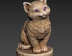 stuff 3D model Cat figurine HP LP printable