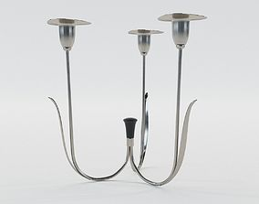 Light candlestick - Vienna 1910 3D