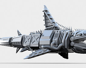 3D Mechanical Shark