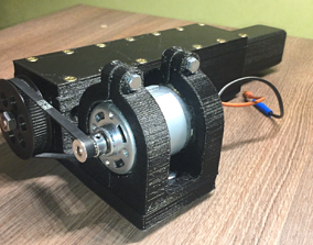 3D-printable linear actuator
