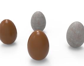 3D model Brown Egg