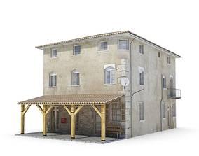 Theater Prop Western Tavern 3D model