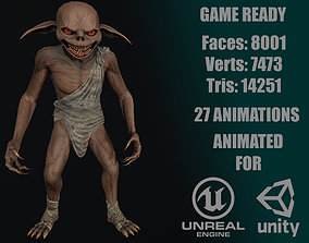 Goblin 3D asset animated realtime
