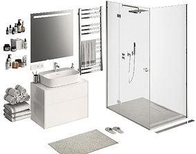 3D model Bathroom Set Part 1