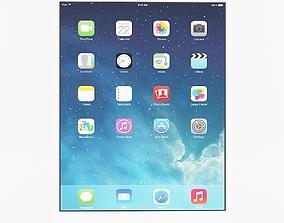 3D Apple iPad Air White