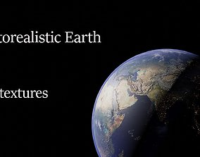 3D asset Photorealistic Earth