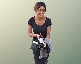 Iona 10933 - Waitress Presenting Bottle 3D model