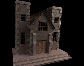 3D cottage shelter House