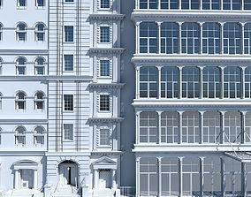 3D Commercial Building Facade 19