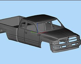 3D model Dodge Ram 1500 2nd gen STL files Printable Body