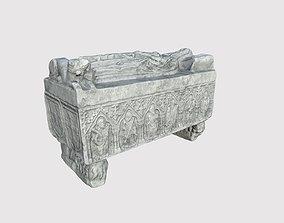 3D model PBR Tombstone
